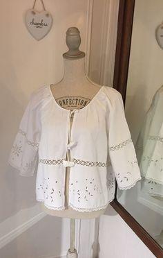 Boléro romantique, veste dentelle Richelieu : Pulls, gilets par realisa
