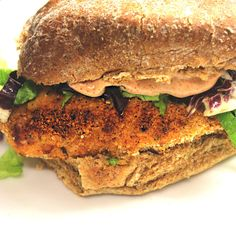 """Day 10. Crispy chicken goujons burger with """"chilli mayo"""" 