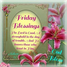 Friday bless8ngs