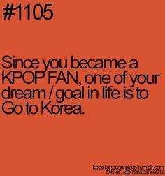 Salah satu life goals para fangirl korea