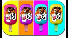 Tiger Ice Cream Finger Family | Ice Cream Song Daddy Finger |  my kids s...