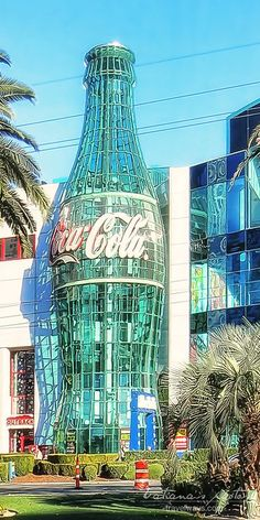 Coca-Cola sign on Las Vegas Strip