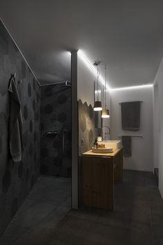 Photos and Videos 4 of 14 from project MCL Barn Architecture, Tiny House, Facade, Wall Lights, Bathtub, Barn, Photo And Video, Lighting, Lausanne