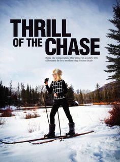 thrill of the chase: serafima kobzeva by rick truscott for marie claire australia june 2013