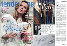 ¿Aún no tienes la revista tendencias? No te pierdas la entrevista a nuestra diseñadora Alex Llana.  #boga #vogue #tendencias #trends #fashiondesigner #fashion #moda