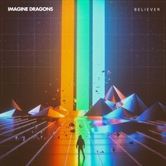 Novità musica: Imagine Dragons - Believer, con testo e video Vaporwave, Imagine Dragons Believer, Imagine Dragons Evolve, Imaginer Des Dragons, Dan Reynolds, Retro Mode, Retro Waves, Imagines, Retro Art