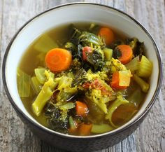 Detox Diet Soup Cleanse Recipe with Veggies