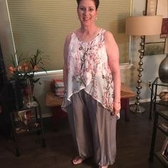 Donna Tartell added a photo of their purchase Baggy Pants, Blue Trousers, Harem Pants, Gypsy Pants, Boho Pants, Multi Coloured Trousers, Wide Leg Yoga Pants, Thai Pants, Aladdin Pants