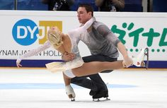 Aliona Savchenko and Bruno Massot of Germany perform their long program at 2016 Rostelecom Cup.