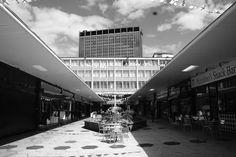 St George's walk, Croydon (2011) Thornton Heath, St George's, Croydon, Old London, Saint George, Places Of Interest, Interesting History, Brutalist, Holiday Destinations