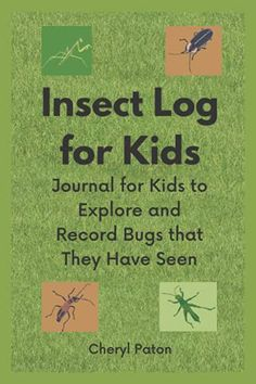 Education And Literacy, Insects, Journal, Kids, Young Children, Boys, Children, Boy Babies, Child