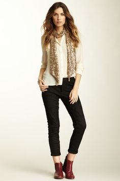 Free People Bonded Lace Trouser Pant