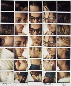segmented polaroid portraits - different segements of people