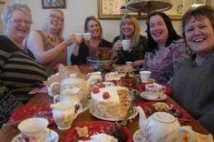 """CCC - Conwy members at their themed event """"Memories are made of cake"""""""