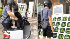 Electric scooter with swappable battery. Dog Haircuts, Hot Hair Styles, Rose Hair, Electric Scooter, Best Funny Pictures, Your Dog, Fun Stuff, Random Stuff, Workout
