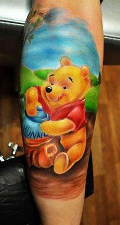 Tattoo Artist - Andrzej Niuniek Misztal | www.worldtattoogallery.com/cartoon_tattoo