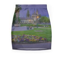 Springtime Sunset at the Soldiers Memorial and Old Town Hall Pencil Skirt