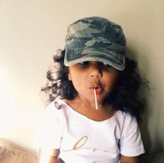 yeah her hair is this crazy most of time. Cute Kids, Cute Babies, Baby Kids, Future Daughter, Future Baby, Beautiful Children, Beautiful Babies, Baby Girl Fashion, Kids Fashion