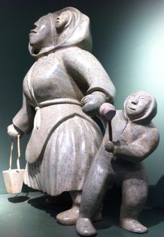 ( Hill's Native ) Kelly Qimirpik Woman & Children