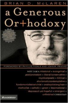 a generous orthodoxy - Google Search