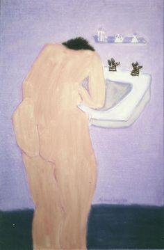 Milton Avery – Sunday Morning, 1962, Oil on canvas, 91.4x61 cm