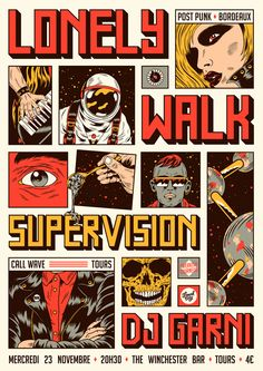 These are various illustrations / graphic design works done for rock/garage bands between late 2016 and early out these killer bands if you haven't already ! Graphic Design Posters, Graphic Design Illustration, Graphic Design Inspiration, Digital Illustration, Graphic Art, Vintage Graphic, Gfx Design, Japanese Graphic Design, Design Comics