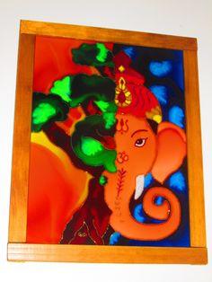 Quadro Árvore Ganesha