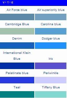 Air Force Blue Pantone Color