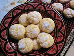 These light, traditional Moroccan cookies are made using fine semolina.