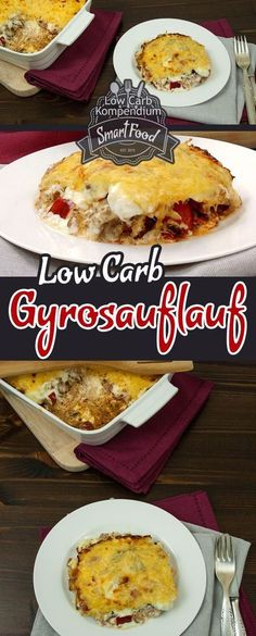 A tasty and tasty combination of gyros and casserole. This low carb dish is quickly prepared and inspires small and large :] A tasty and tasty combination of gyros and casserole. This low carb dish is quickly prepared and inspires small and large :] Paleo Recipes, Low Carb Recipes, Law Carb, Low Carb Diet, Paleo Diet, Diet Foods, Ketogenic Diet, Food Porn, Food And Drink