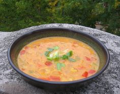 East African Groundnut Soup- Recipe