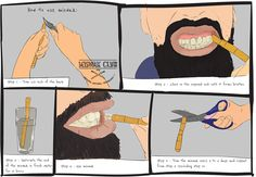 The Easy Guide to Using a Miswak #infographic #HowTo #Miswak