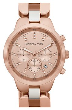 Michael Kors 'Showstopper' Chronograph Bracelet Watch