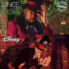 """Daniel Francis as Dr. Facilier on """"Once Upon a Time"""" Keith David is him in """"The Princess and the Frog""""."""
