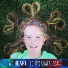 We Heart Tie-Dye Craft Ideas by Club Chica Circle.