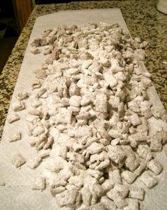 Gluten Free Puppy Chow Snack