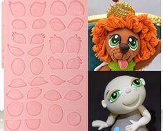 çeşitli karikatür gözler 3d silikon kalıp- tal tsafrir kek tencere yemek çubuğu olmayan- sopa kek dekorasyon fondan sabun kalıbı- 237