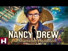 Nancy Drew: The Shattered Medallion Official Trailer. Won this game software giveaway on 6/27/14. Thanks Ellen and HER Interactive Inc.!