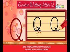 Cursive Letter Writing For Children