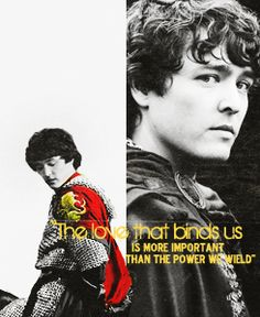"""Mordred: """"The love that binds us is more important than the power we wield"""""""