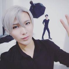 11062016 #moemoebaozi iG Update  #yurionice ~~~~ #BaoziandHanaiGUpdate #BaoziandHana #BaoziHana #BaoHan #Baozi #Hana #flower #bun #yuuri #yuri #viktor #yoi #yaoi #bl #iceskating #couple #cosplayer #cosplay #cosmetics #makeup #couplecosplay