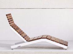Téléchargez le catalogue et demandez les prix de Rivage By mmcité1, bain de soleil en acier et bois design David Karasek, Radek Hegmon
