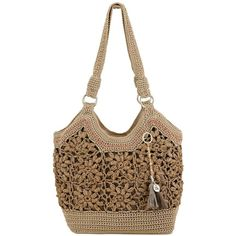 The Sak Ellis Tote found on Polyvore featuring polyvore, fashion, bags, handbags, tote bags, natural floral, the sak purse, floral print handbags, lightweight handbags and the sak handbags