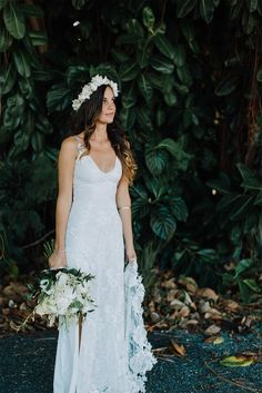 Grace Loves Lace Lottie Gown - Alex and Maria's laid back, intimate beach wedding, featuring our understated Lottie gown.