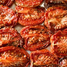 Luscious flavor bombs, roasted tomatoes are perfect accompaniments to meat or poultry, stand-alone appetizers or add-ins to countless recipes.