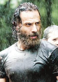 Rick Grimes - The Walking Dead - Rick is due for a shave