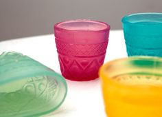 Biodegradable, edible cups by Loliware.