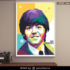 Sir James Paul McCartneyCHMBE(born 18 June 1942) is an English singer, songwriter, musician, composer, and record and film producer who gained worldwide fame as co-lead vocalist and bassist forthe Beatles. Hissongwriting partnershipwithJohn Lennonremains the most successful in history.[2]After thegroup disbandedin 1970, he pursued a solo career and formed the bandWingswith his first wife,Linda, andDenny Laine. . . . . . . . . . . . . . . . . . #gift #commissionsopen #legend #corel   Denny Laine, Pop Art Face, Paul Mccartney, The Beatles, Career, June, Concept, English, Cartoon