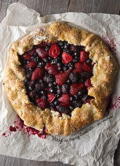Very-Berry-Crostata_2 cups all purpose flour 1/2 cup Almond flour or ground almonds, pecans, walnuts, or hazelnuts 1-3/4 sticks butter 2 good pinches of salt 1-4 up to 1/3 Iced cold water  1 egg + 1 tablespoon water, bitten for egg wash 1 teaspoon turbinado or sparkling sugar and 1 teaspoon Sea salt crystals to top the edges of the crust.