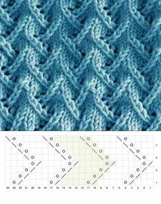 Ladies Cardigan Knitting Patterns, Lace Knitting Stitches, Lace Knitting Patterns, Crochet Square Patterns, Knitting Charts, Baby Knitting, Stitch Patterns, Free Knitting, Tricot D'art
